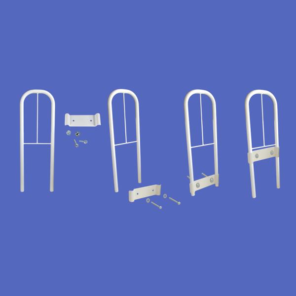 Clamprail grab rail bed lever fixings