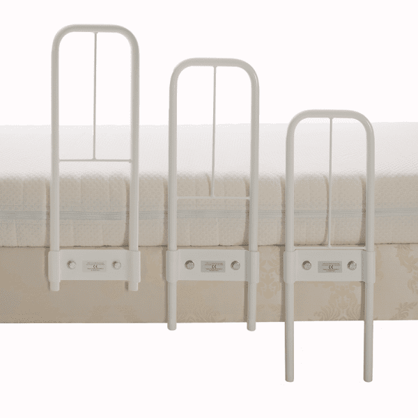 Clamprail bed rail adjustable height settings